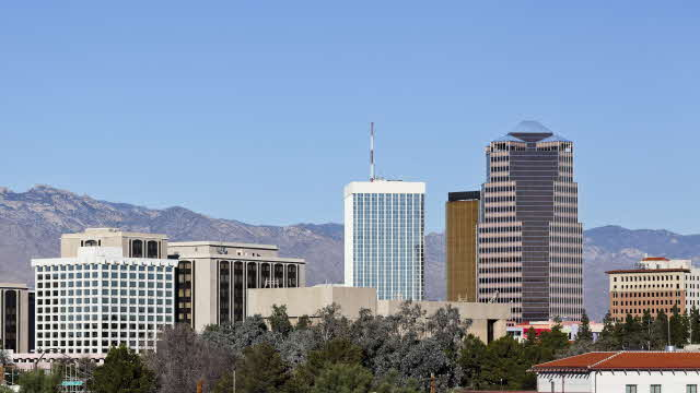 skyline of downtown tucson arizona