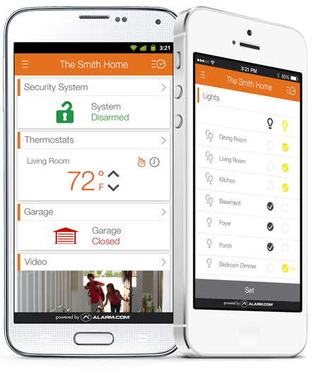 home security android mobile app
